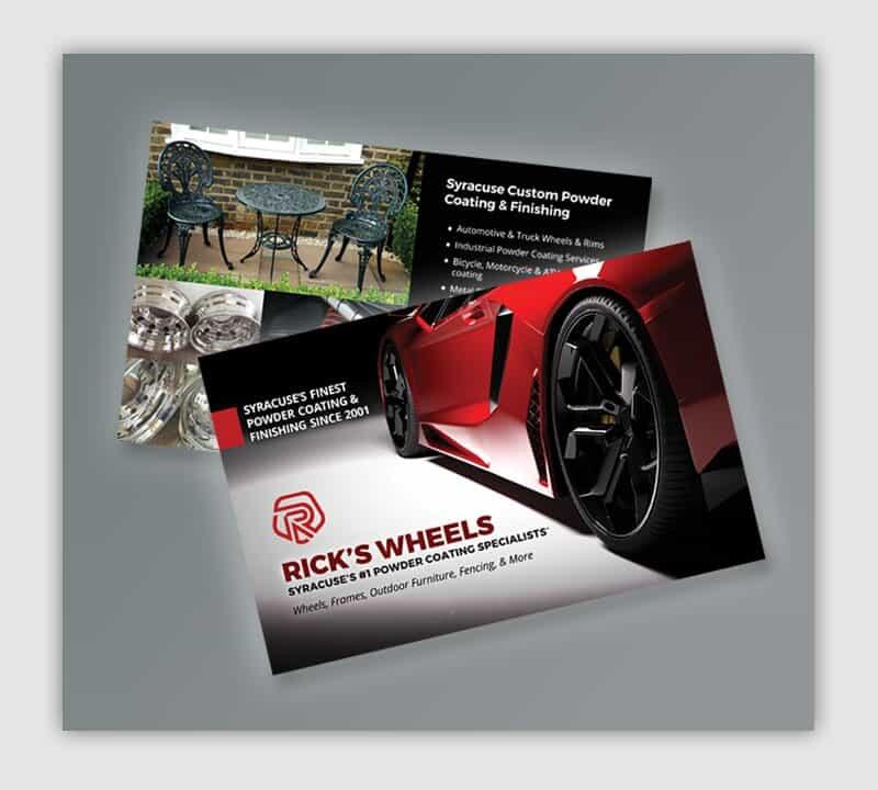Graphic Designer Syracuse NY - Ricks Wheels